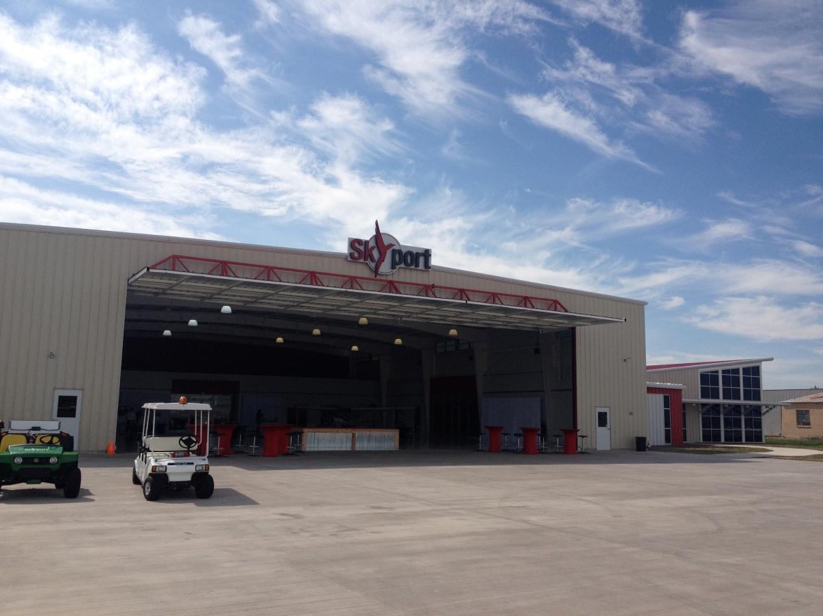 Outside of Hangar