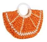 Citrus Orange Handbag