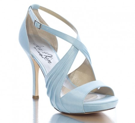 baby blue bridal shoe platinum weddings and events