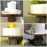 DIY cakestands