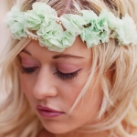 mint head piece