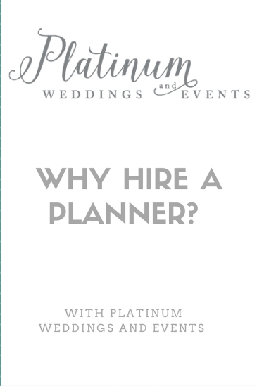 Why hire a planner-